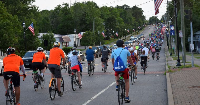 Clarence Pedal Party attracts over 500 cyclists